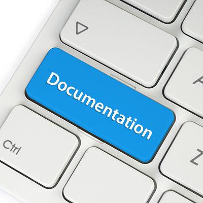button documentation