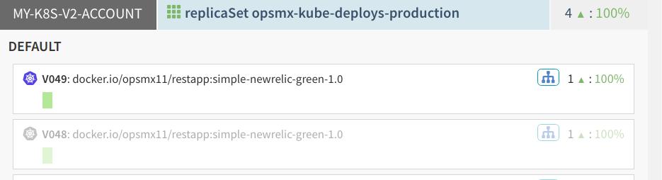 Rerun Spinnaker Blue/Green deployment to Kubernetes