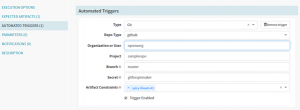 Configure Automated Triggers in Spinnaker