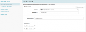 Configure Expected Artifacts in Spinnaker