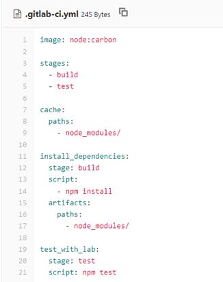 GitLab CI configuration