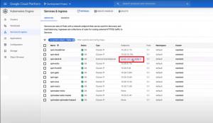Access Spinnaker through an external IP address