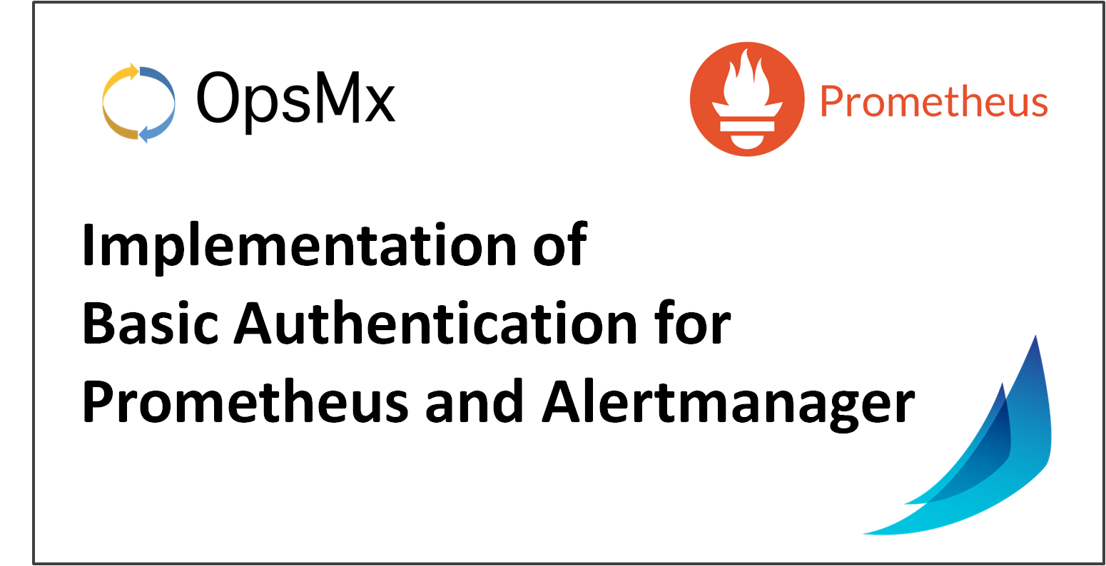 Implementation of Basic Authentication for Prometheus and Alertmanager used in Spinnaker CD pipeline
