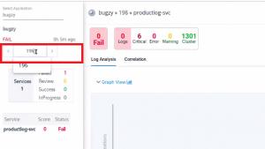 Navigate Analysis Screen