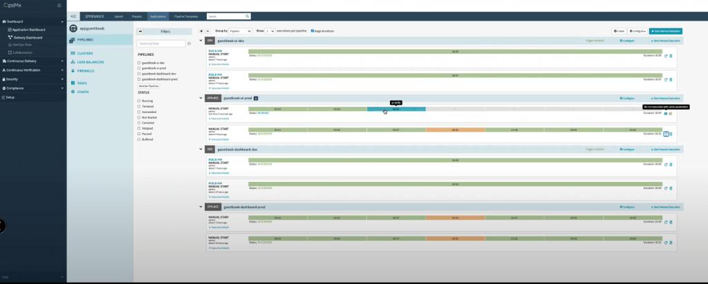 CI/CD Pipeline product screenshot