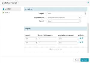 Create a Firewall in the Spinnaker CI/CD pipeline