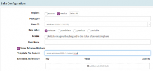 Set up Bake Stage in the Spinnaker CI/CD pipeline