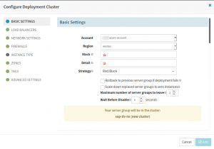 Set up Deploy Stage in the Spinnaker CI/CD pipeline
