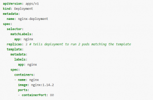 nginx deployment