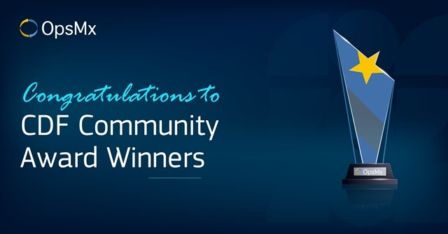 CDF Award winners sponsored by OpsMx